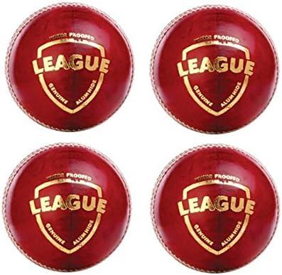 SG diseño de Pelota de críquet Liga 4 Bola Set: Amazon.es ...