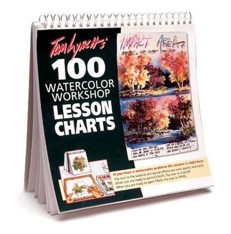 Tom Lynch 100 Watercolor Workshop Lesson Charts