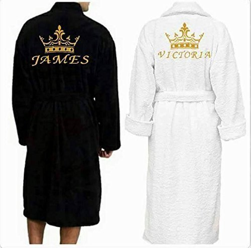 Personalised Dressing Gown Bath Robe Customised Gift Gift For Her