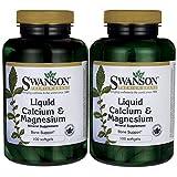 Swanson Liquid Calcium & Magnesium 300/150 Milligrams 200 Sgels Review