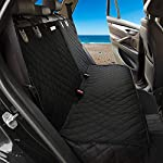 AMZPET Dog Car Seat Covers for Pets, Child Seat, Taxi Passengers, Items – Waterproof Nonslip Durable Scratch Proof. Back…