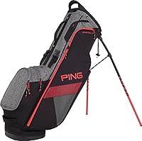 Ping 2018 Hooferlite 181 Stand Golf Bag 06 Black/silver Spray/electric Crim