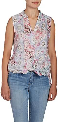 Jag Jeans Womens Aspen Sleeveless Top in Rayon Print