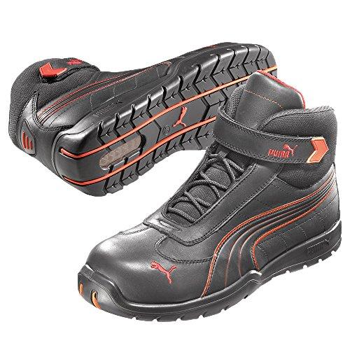 Puma S3 Daytona Mid 63.216.0 Zapatos de seguridad, botines altos