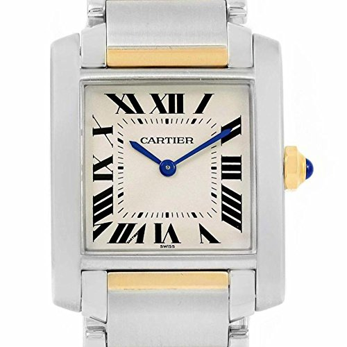 Cartier Tank Francaise quartz womens Watch W2TA0003 (Certified Pre-owned)