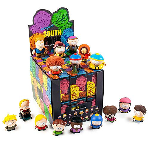 Kidrobot x South Park Series 2 Vinyl Mini Figures - 1 Full Case of 24 Blind Boxes
