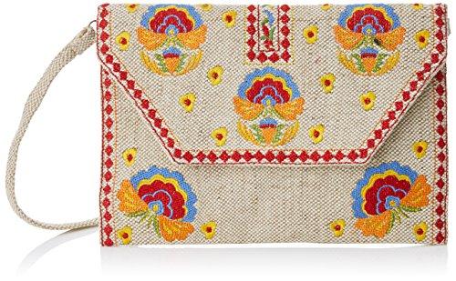 Varios Bandolera 2x20x29 Cuplé Flores H Para Colores X Blores bordado Cm L Mujer w Bolso qWZEXSrnE