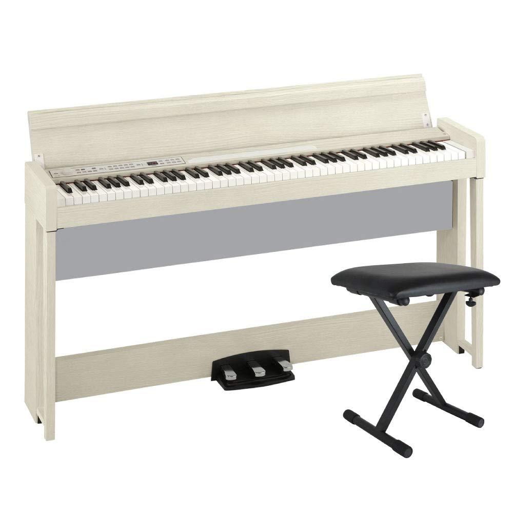 【初回限定お試し価格】 KORG WA C1 AIR WA B07KMSHD3T 電子ピアノ KORG Dicon Audio SB-001 キーボードベンチセット B07KMSHD3T, Land Field:e8a17e2b --- eastcoastaudiovisual.com