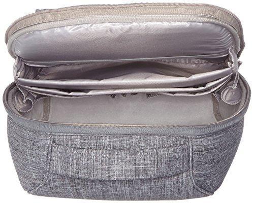 COZI CPCB004 City Rucksack für MacBook 38 cm (15 Zoll) grau QvEWd