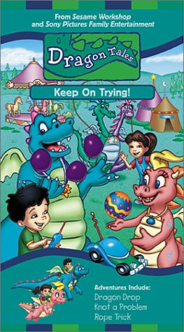 Dragon Tales - Keep on Trying [VHS]