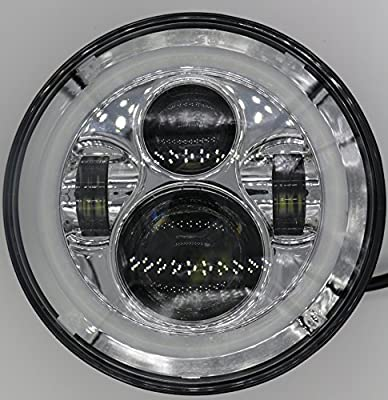 """7"""" Led Headlight, For Harley Davidson Day Maker Style with Halo"""