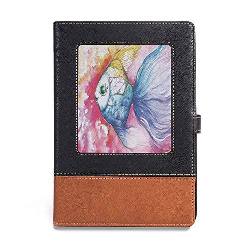 Travel Journal Diary noteBook,Ocean Animal Decor,A5(6.1