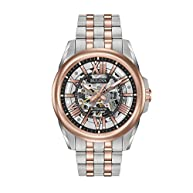 Bulova Men's Automatic Two-Tone Stainless Steel Watch