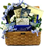 Serenity Prayer Gourmet Christian Gift Basket w/ Cookies, Coffee, and Truffles