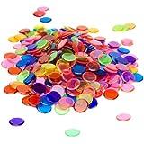 250 Mixed 3/4-inch Bingo Chips by Royal Bingo Supplies