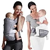 Bebamour Baby Carrier with Hip Seat 6 in 1
