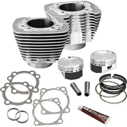 S&Sサイクル S&S Cycle 1200ccから1250cc改造キット 86年以降 XL 圧縮比10:3:1 シルバー 0931-0527 910-0433   B01M196155