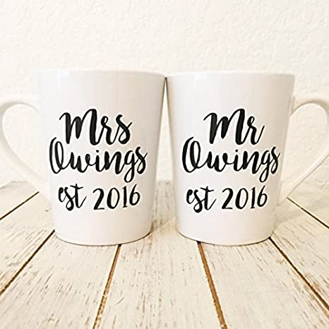 customized newly wed coffee mug gift wedding gifts for couple gifts for anniversary