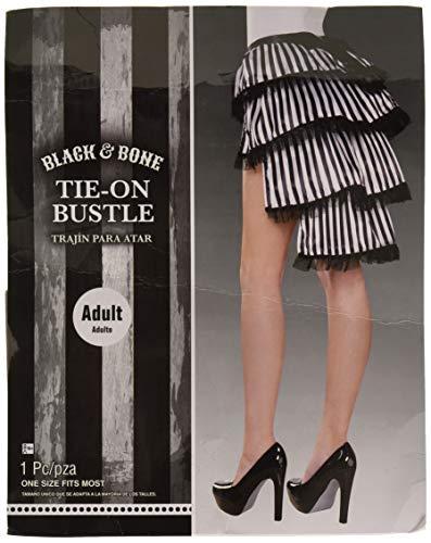 Amscan 841078 Black & Bone Tie-On Bustle, Standard]()