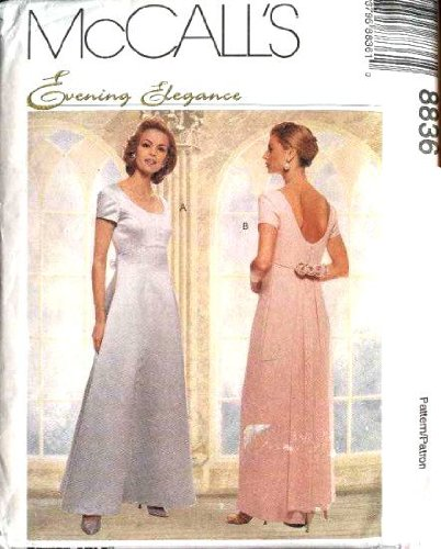 McCall's Sewing Pattern 8836 Misses'