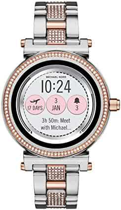 Michael Kors Access, Women's Smartwatch, Sofie Two-Tone Stainless Steel, MKT5040