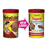 Tetra Tropical Colour Granules, Fish Food with Natural Colour Enhancers, 300g