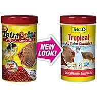 Tetra Tropical XL Color Granules with Natural Color Enhancer, 10.58-Ounce (TetraColor)