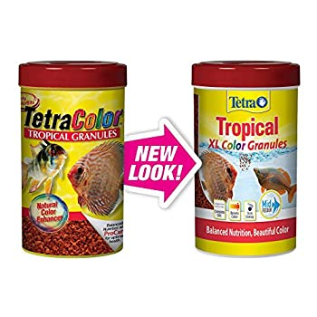 Tetra Tropical XL Color Granules with Natural Color Enhancer 1058Ounce TetraColor