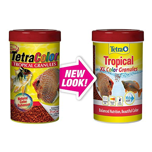 - Tetra Tropical XL Color Granules with Natural Color Enhancer, 10.58-Ounce (TetraColor)