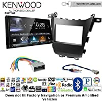 Volunteer Audio Kenwood DMX7704S Double Din Radio Install Kit with Apple CarPlay Android Auto Bluetooth Fits 2013-2016 Honda Accord