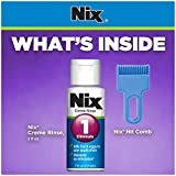 Nix Lice Killing Creme Rinse, 2 oz and Nit Comb to