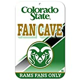 11''x17'' Fan Cave Street Sign Colorado State Rams