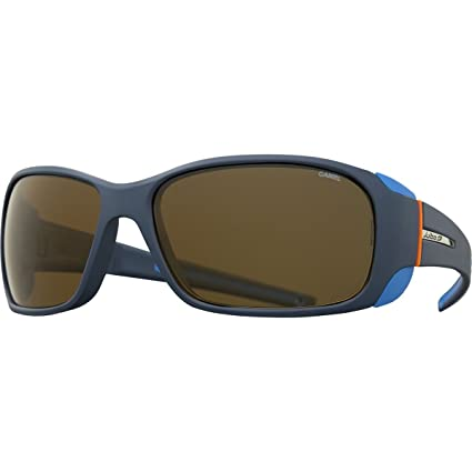 5b7134e363c Julbo Montebianco Mountain Sunglasses - REACTIV Cameleon - Blue Blue Orange