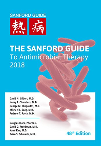 The Sanford Guide to Antimicrobial Therapy 2018 cover