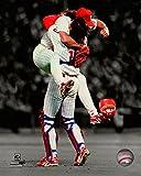 "Mitch Williams & Darren Daulton Philadelphia Phillies MLB Spotlight Photo (Size: 8"" x 10"")"