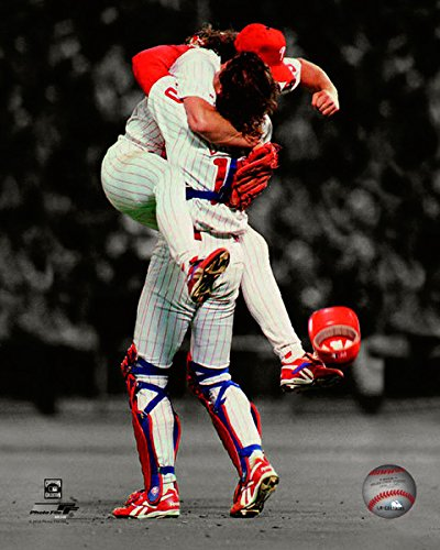 Photo Fan Phillies (Mitch Williams & Darren Daulton Philadelphia Phillies MLB Spotlight Photo (Size: 8