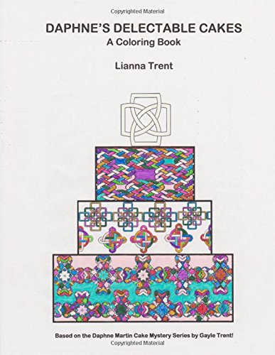 Amazon.com: Daphne\'s Delectable Cakes: A Cake Coloring Book ...