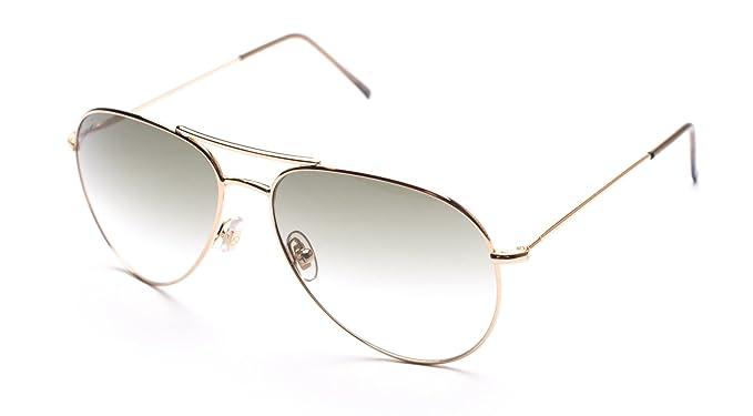 ad41f67d1b6 Gucci Men s Women s Unisex Aviator Sunglasses 1287 S Gold  Gucci ...