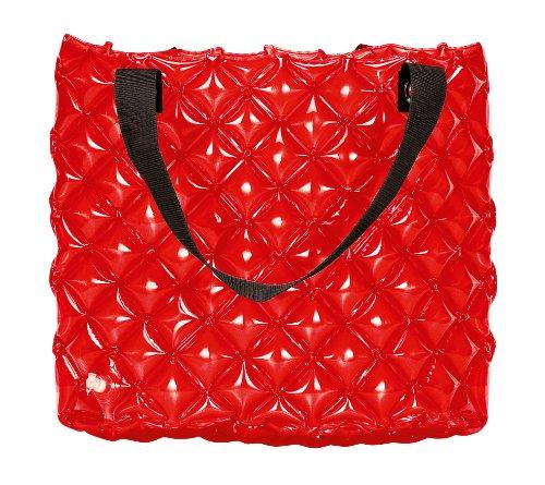 Wenko 4392301100 - Borsa a tracolla, cuscinetti d'aria, colore: Rosso