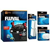 Fluval FX-6 Aquarium Canister Filter (FX-6 Filter Package)