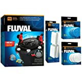 Fluval FX-4 or FX-6 Aquarium Canister Filter Package