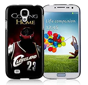 New Custom Design Cover Case For Samsung Galaxy S4 I9500 i337 M919 i545 r970 l720 Lebron James 1 Black Phone Case