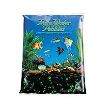 Worldwide Pure Water Pebbles Aquarium Gravel, 5-Pound, Emerald Glo