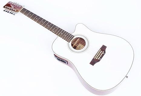 Cher rystone 4260180887204 Western de 12 cuerdas Guitarra con ...