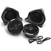 Rockford Fosgate YXZ-UPPER Add-on Front Upper Speaker Kit for use with YXZ-STAGE2, YXZ-STAGE3 and YXZ-STAGE4 Kits