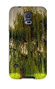 Nora K. Stoddard's Shop Cute High Quality Galaxy S5 Tree With Cascading Leaves Case