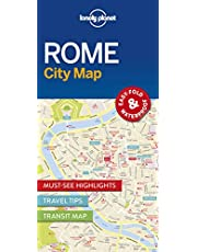 Lonely Planet Rome City Map 1st Ed.