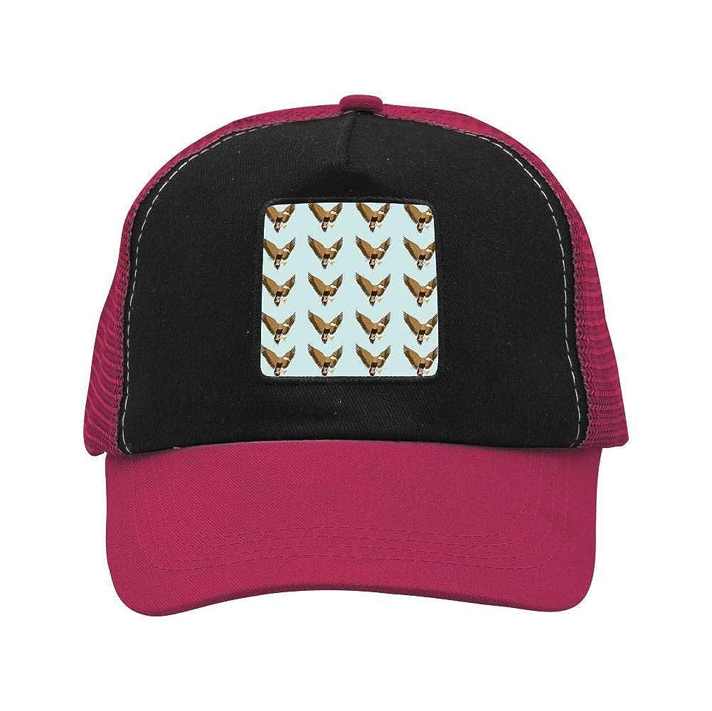 Flying Mallard Ducks Mesh Caps Adjustable Unisex Snapback Trucker Cap