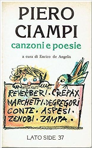 Piero Ciampi - Canzoni e poesie