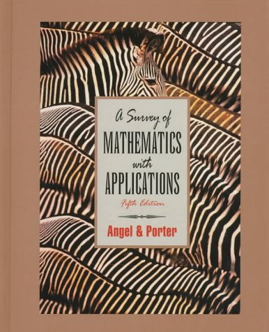 A Survey of Mathematics With Applications for sale  Delivered anywhere in USA